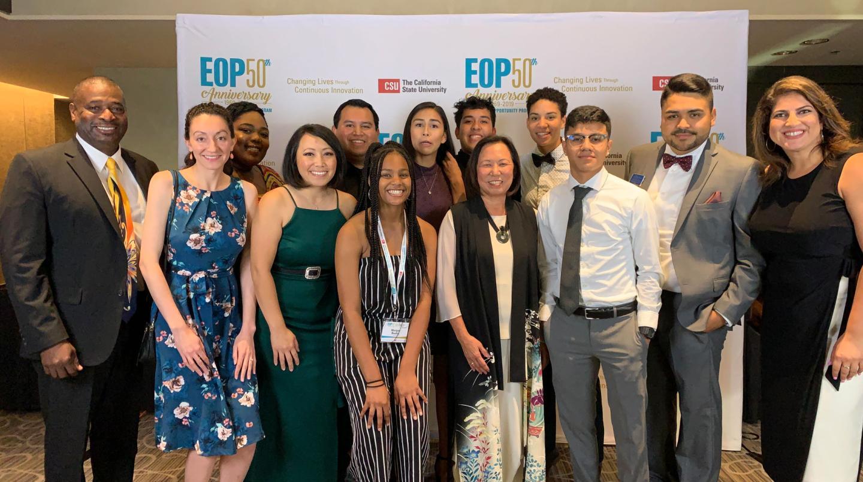 EOP staff with President Judy K. Sakaki